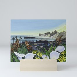 Capitola Village Wharf Mini Art Print