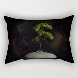 The Second Sanctuary in Space Rectangular Pillow