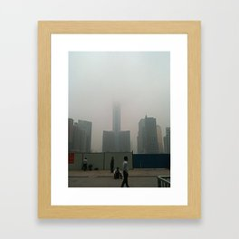 Endless Tower Framed Art Print