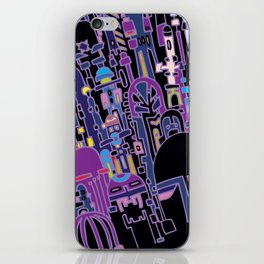 SILICON VALLEY HIGH iPhone Skin