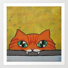 Eat your schleppi Art Print