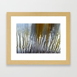 Metal Rain I Framed Art Print