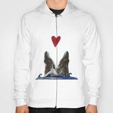 Whales in Love Hoody