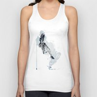 cocktail Tank Tops featuring Cocktail Party by Kelly Lindstrom