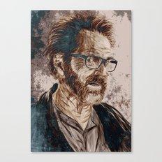 Walt Canvas Print