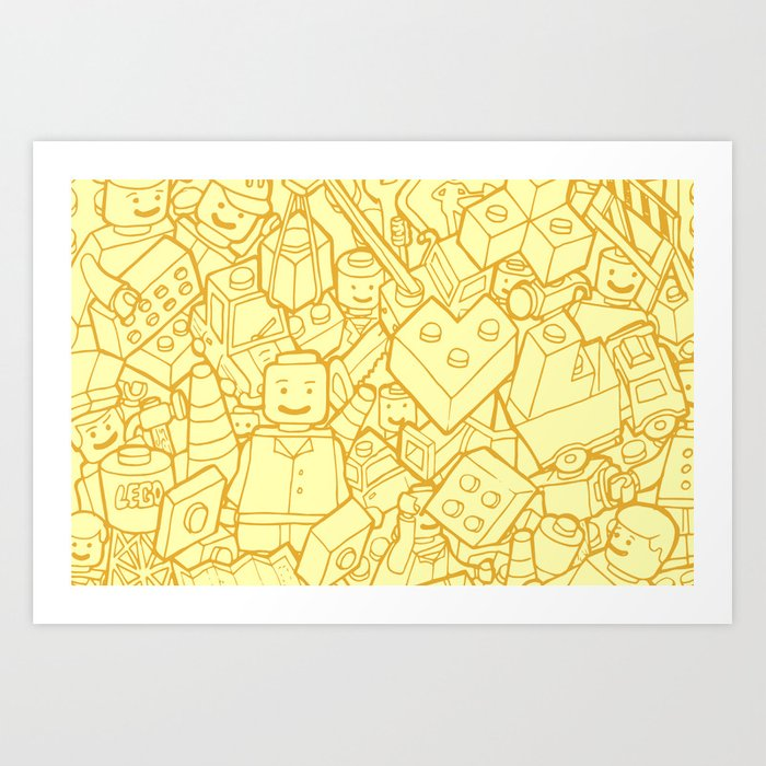 #MoleskineDaily_39 Art Print