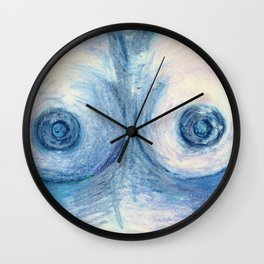 Airy 'Oh! La!' Wall Clock