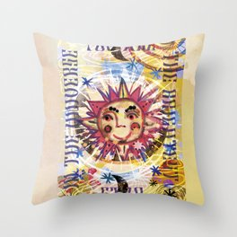 You are the Brightest Star Throw Pillow