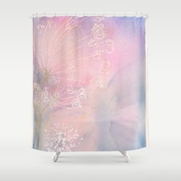 Lacey Evening Shower Curtain