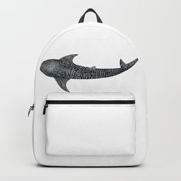 Whale shark Rhincodon typus Backpack