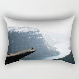 Trolltunga Rectangular Pillow