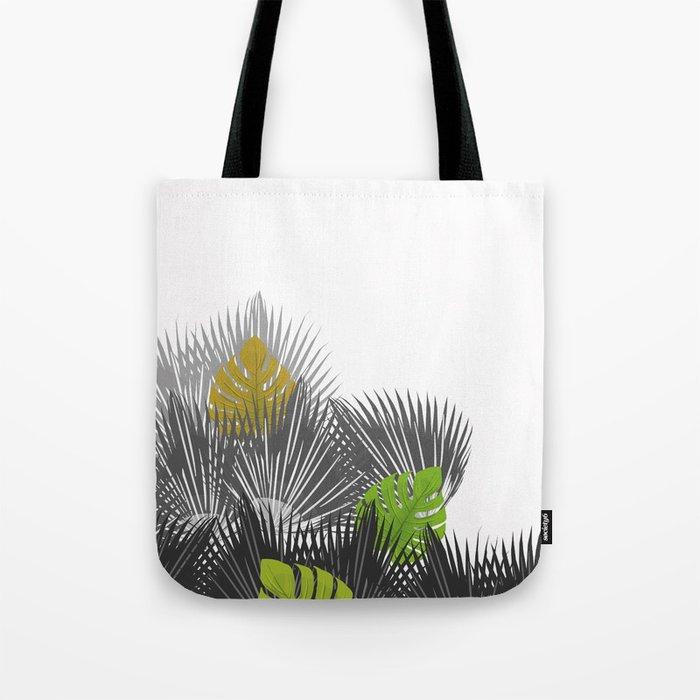Tropical leaves 04 Tote Bag