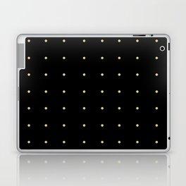 Black & Cream Polka Dots Laptop & iPad Skin