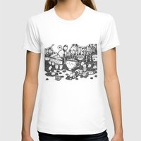 coffe T-shirts featuring Smile coffe by Kisava NiCh