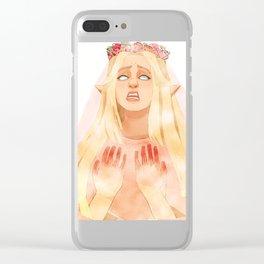 Elvish Clear iPhone Case