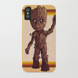 Dancing Baby Twig Guardians of the Galaxy iPhone Case