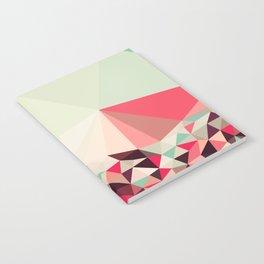 Poppy Field Tris Notebook