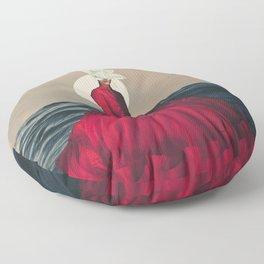 Distant Fragility Floor Pillow