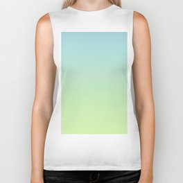 GHOSTY - Minimal Plain Soft Mood Color Blend Prints Biker Tank