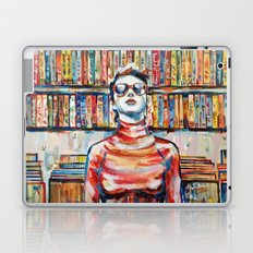 Vhs Vinilos Revisited Laptop & iPad Skin
