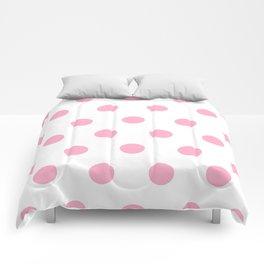 Pink Polka Dot Design Comforters