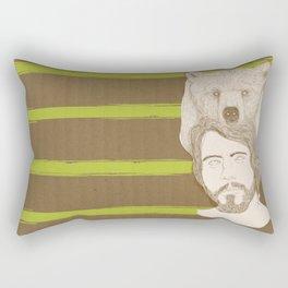 mr.bear-d Rectangular Pillow