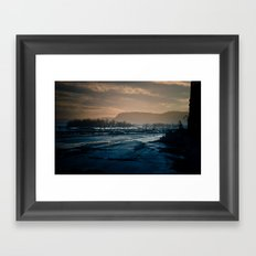 winterscape Framed Art Print