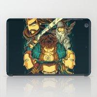 hobbit iPad Cases featuring The Hobbit by anggatantama