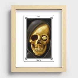 Death Recessed Framed Print