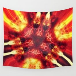 Capacitor, Flux Overdrive Wall Tapestry