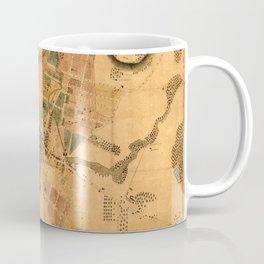 Map Of Poughkeepsie 1834 Coffee Mug