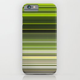 Earth Stripes iPhone Case