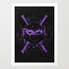 Donatello Turtle Art Print