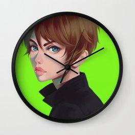 Green Eren Wall Clock