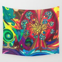 The Cosmic Owl pt. 3 Wall Tapestry