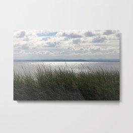 Shining Waters Melmerby Beach Metal Print