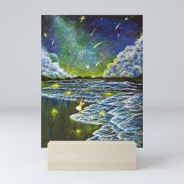 That magical night when the stars rained down  Mini Art Print