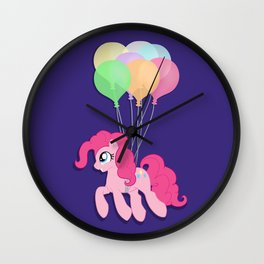 Pinkie Pie Party Wall Clock