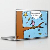 cincinnati Laptop & iPad Skins featuring Cincinnati Weather by Nabi Hamdi Mortan
