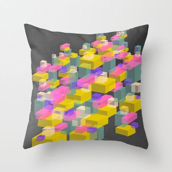 Cubes #2 Throw Pillow