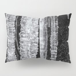 Icicles, No. 4 bw Pillow Sham