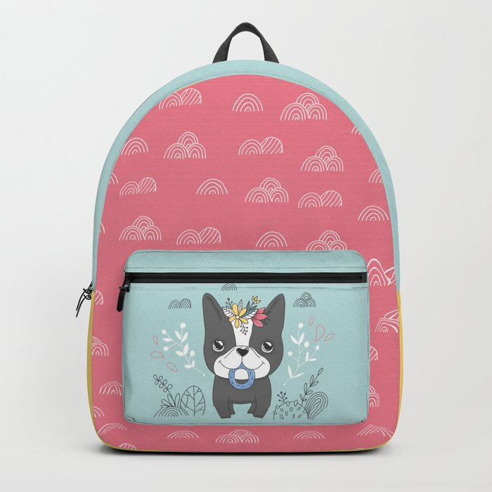 French bulldog. Nika Backpack