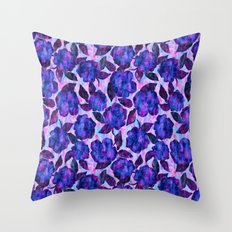 Petal Pash Bouquet Throw Pillow