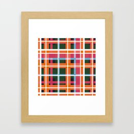 Geometric Shape 05 Framed Art Print