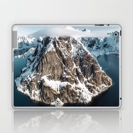 aerial view of the lofoten Laptop & iPad Skin