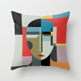 WOMAN OF WHEN Throw Pillow