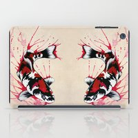 koi fish iPad Cases featuring Koi by Puddingshades