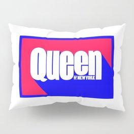 Queen of New York (Blue & Red) Pillow Sham