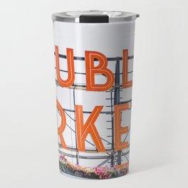 Public Market (Close Up) Travel Mug