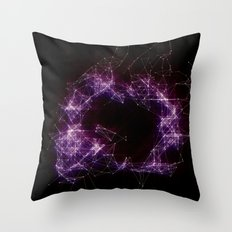 Artificial Constellation Throw Pillow